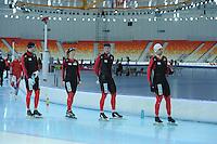 SPEEDSKATING: SOCHI: IJsstadion, Duitse schaatsers, 18-03- 2013, copyright Martin de Jong