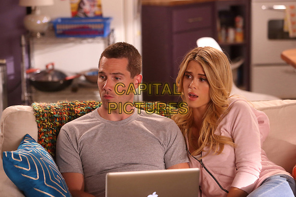 Luke Macfarlane, Leah Renee<br /> in Satisfaction (2013)<br /> (Season 1)<br /> *Filmstill - Editorial Use Only*<br /> CAP/FB<br /> Image supplied by Capital Pictures