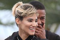 Michael Bakari Jordan  &amp; Sofia Boutella<br /> FARENHEIT 451 Photocall<br /> 71st Cannes Film Festival, France - 12th May 2018<br /> CAP/GOL<br /> &copy;GOL/Capital Pictures