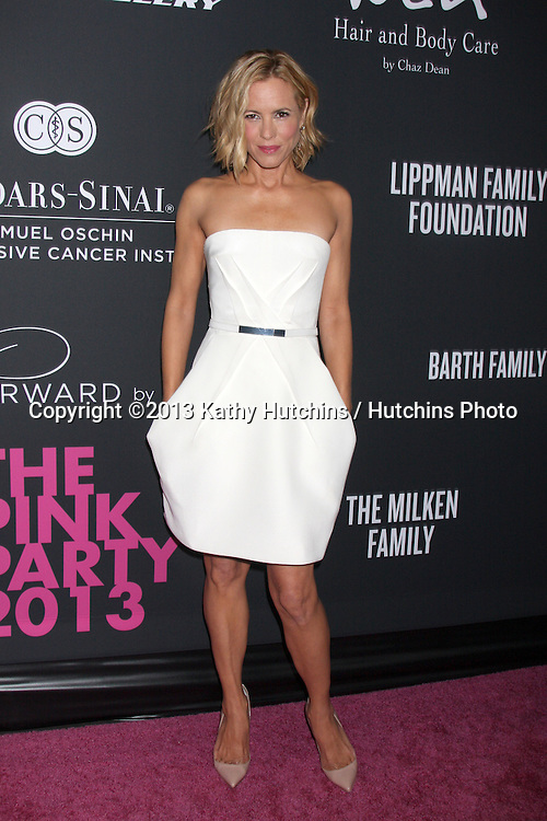 LOS ANGELES - OCT 19:  Maria Bello at the 2013 Pink Party at Hanger 8 on October 19, 2013 in Santa Monica, CA