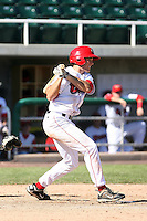 Jerod Yakubik #19 of the Orem Owlz during a game against the Billings Mustangs in a Pioneer League game at Brent Brown Ballpark on July 24, 2011 in Orem, Utah. (Bill Mitchell/Four Seam Images)