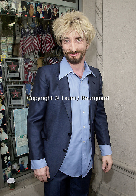 Martin Short was a guest as producer Bernie Brillstein was honored with a star on the 'Hollywood Walk of Fame' in Los Angeles, Ca. 4/18/01.  © Tsuni          -            ShortMartin01.jpg