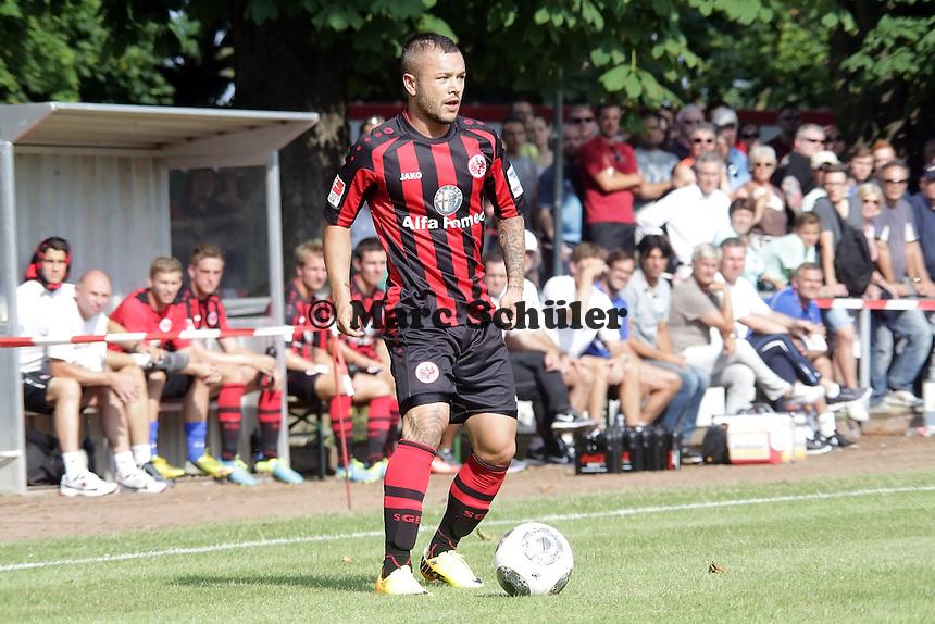 Stephan Schroeck (Eintracht) - Eintracht Frankfurt vs. VfR Aalen