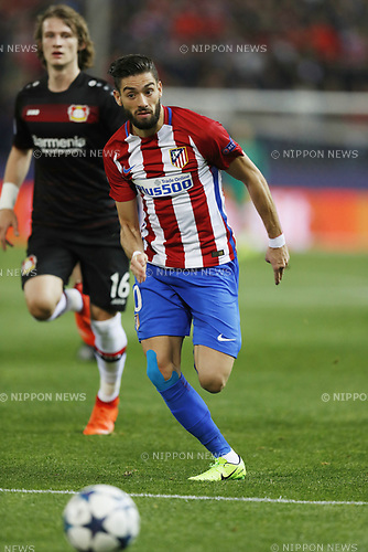 Yannick Carrasco (Atletico), MARCH 15, 2017 - Football / Soccer : UEFA Champions League round of 16 2nd leg match between Club Atletico de Madrid 0-0 Bayer 04 Leverkusen at the Vicente Calderon Stadium in Madrid, Spain. (Photo by Mutsu Kawamori/AFLO) [3604]