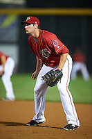 Harrisburg Senators first baseman Shawn Pleffner (10) during a game against the New Hampshire Fisher Cats on July 21, 2015 at Metro Bank Park in Harrisburg, Pennsylvania.  New Hampshire defeated Harrisburg 7-1.  (Mike Janes/Four Seam Images)