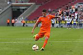 01.08.2015. Cologne, Germany. Pre Season Tournament. Colonia Cup. Valencia CF versus FC Porto.  Rodrigo De Paul also scores his penalty to level the game at 2-2.