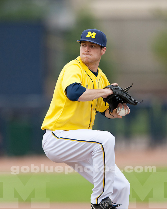 University of Michigan 11-8 loss to Penn State at Ray Fisher Stadium in Ann Arbor, MI, on May 21, 2011.