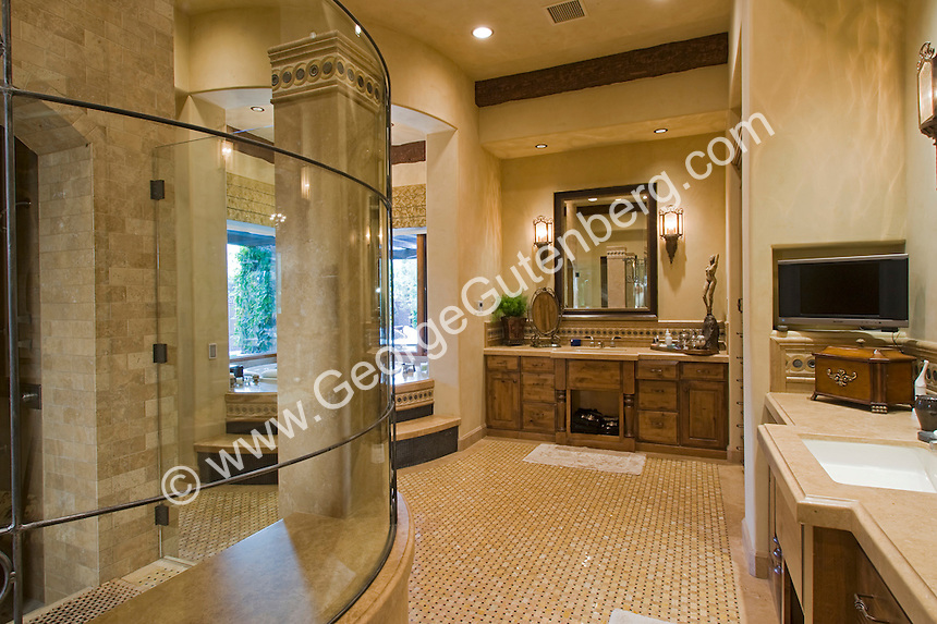 Stock Photo Of Residential Bathroom Interior Design Stock