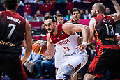 5th September 2017, Fenerbahce Arena, Istanbul, Turkey; FIBA Eurobasket Group D; Turkey versus Belgium; Center Semih Erden of Turkey in action during the match