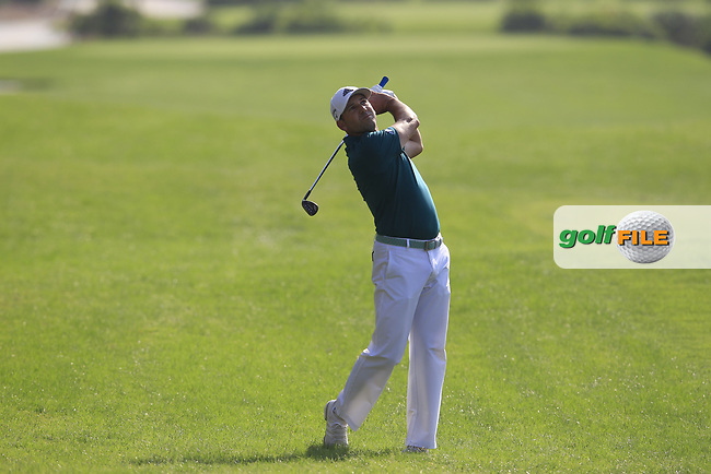 Sergio Garcia (ESP) on the 15th fairway during the final round of the DP World Tour Championship, Jumeirah Golf Estates, Dubai, United Arab Emirates. 18/11/2018<br /> Picture: Golffile | Fran Caffrey<br /> <br /> <br /> All photo usage must carry mandatory copyright credit (&copy; Golffile | Fran Caffrey)