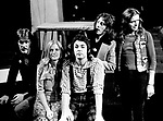 Wings 1972 Denny Seiwell, Linda McCartney, Paul McCartney, Denny Laine and Henry McCullough.© Chris Walter.