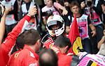 26.08.2018, Circuit de Spa-Francorchamps, Spa-Franchorchamps, FORMULA 1 2018 JOHNNIE WALKER BELGIAN GRAND PRIX, 23. - 26.08.2018<br /> , im Bild<br />Sieger Sebastian Vettel (GER#5), Scuderia Ferrari<br /> <br /> Foto &copy; nordphoto / Bratic