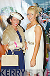 Pictured at Listowel Races, Ladies Day on Friday from left: Annette O'Brien (Killarney) and Saoirse Fitzgerald (Moyvane).