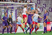 Orlando, FL - Saturday August 05, 2017: Alyssa Mautz during a regular season National Women's Soccer League (NWSL) match between the Orlando Pride and the Chicago Red Stars at Orlando City Stadium.