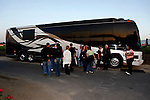 May 15, 2010: Clint Black's tour bus is parked at the venue just before a meet and greet with  legendary Award-winning country singer-songwriter Clint Black who performed live at the 'Rhythm on the Vine' charity event to benefit Shriners Children Hospital held at  the South Coast Winery Resort & Spa in Temecula, California..Photo by Nina Prommer/Milestone Photo