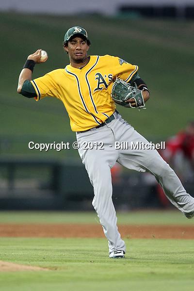 Luis Baez - 2012 AZL Athletics (Bill Mitchell)