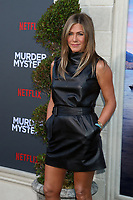 "LOS ANGELES - JUN 10:  Jennifer Aniston at the ""Murder Mystery"" Premiere at the Village Theater on June 10, 2019 in Westwood, CA"
