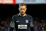 League Santander 2017/2018. Game: 28.<br /> FC Barcelona vs At. Madrid: 1-0.<br /> Jan Oblak.