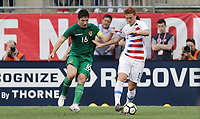 Chester, PA - Monday May 28, 2018: Ronald Raldes, Josh Sargent during an international friendly match between the men's national teams of the United States (USA) and Bolivia (BOL) at Talen Energy Stadium.