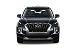 Car photography straight front view of a 2020 Hyundai Palisade SEL 5 Door SUV