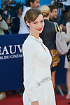Louise Bourgouin attends the red carpet during the 41st Deauville American Film Festival on September 6, 2015 in Deauville, France