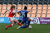 Heather O'Reilly of Arsenal Ladies scores the opening goal during Arsenal Ladies vs Birmingham City Ladies, FA Women's Super League FA WSL1 Football at the Hive Stadium on 20th May 2017