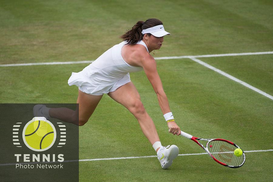 AJLA TOMLJANOVIC (CRO)<br /> <br /> The Championships Wimbledon 2014 - The All England Lawn Tennis Club -  London - UK -  ATP - ITF - WTA-2014  - Grand Slam - Great Britain -  24th June 2014. <br /> <br /> © Tennis Photo Network