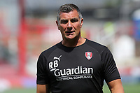 Rotherham United Assistant Manager, Richie Barker during Brentford vs Rotherham United, Sky Bet EFL Championship Football at Griffin Park on 4th August 2018