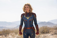 Captain Marvel (2019) <br /> Carol Danvers/Captain Marvel (Brie Larson)<br /> *Filmstill - Editorial Use Only*<br /> CAP/MFS<br /> Image supplied by Capital Pictures