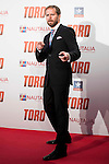 "Alberto Lopez Lopez attends to the premiere of the spanish film ""Toro"" at Kinepolis Cinemas in Madrid. April 20, 2016. (ALTERPHOTOS/Borja B.Hojas)"