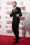 "Alberto Lopez Lopez attends to the premiere of the spanish film ""Toro"" at Kinepolis Cinemas in Madrid. April 20, 2016. (ALTERPHOTOS/Borja B.Hojas)"