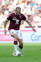27th October 2019; Olympic Grande Torino Stadium, Turin, Piedmont, Italy; Serie A Football, Torino versus Cagliari; Lorenzo De Silvestri of Torino FC on the ball - Editorial Use