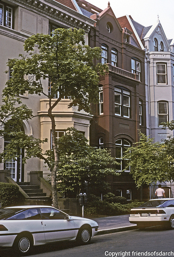 Washington D.C. : 1818 N St. , David  M. Schwarz. Photo '91.