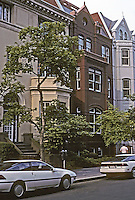 Washington D.C. : 1818 N St. , David  M. Schwarz. Photo '91.