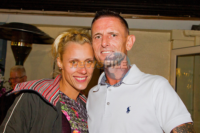 Dave Bradley and Helina Tumoea in the Black Bull.<br /> Picture: Shane Maguire / www.newsfile.ie