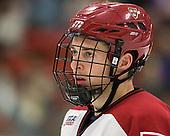 Dan Ford (Harvard - 5) - The Harvard University Crimson defeated the visiting Colgate University Raiders 4-2 on Saturday, November 12, 2011, at Bright Hockey Center in Cambridge, Massachusetts.