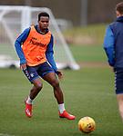 21.02.2019: Rangers training: Lassana Coulibaly