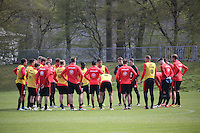 12.04.2016: Eintracht Frankfurt Training