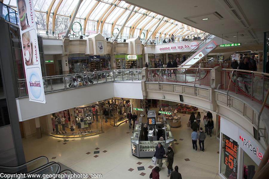 Castle Mall shopping centre, Norwich, Norfolk, England