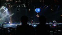 Thousands attend Cirque Du Sole, the opening venue at the newly constructed John Paul Jones arena 8-01-06. Photo/Andrew Shurtleff