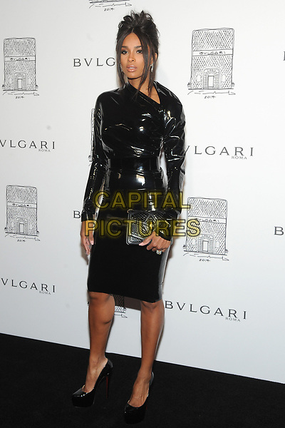 NEW YORK, NY - OCTOBER 19: Ciara attends the re-opening of the  Bulgari flagship store on Fifth Avenue in New York City on October 20, 2017. <br /> CAP/MPI/JP<br /> &copy;JP/MPI/Capital Pictures
