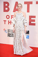 Emma Stone<br /> arriving for the London Film Festival 2017 screening of &quot;Battle of the Sexes&quot; at the Odeon Leicester Square, London<br /> <br /> <br /> &copy;Ash Knotek  D3322  07/10/2017