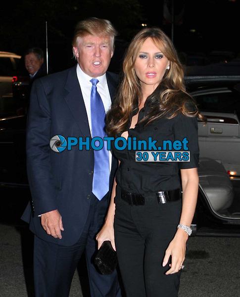 Donald Trump & Melania<br /> 2009<br /> Photo By John Barrett/CelebrityArchaeology.com