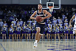 HIGH POINT, NC - JANUARY 06: Charleston Southern's Travis McConico. The High Point University of Panthers hosted the Charleston Southern University Buccaneers on January 6, 2018 at Millis Athletic Convocation Center in High Point, NC in a Division I men's college basketball game. HPU won the game 80-59.