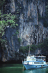 BOAT RIDE TO PHANG NGA BAY FOR CANOEING THROUGH CAVES