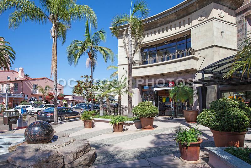 Quicksilver Retail Store on Prospect Street in La Jolla California