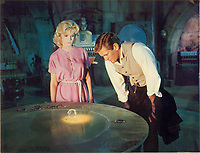The Time Machine (1960) <br /> Doris Lloyd, Rod Taylor &amp; Yvette Mimieux<br /> *Filmstill - Editorial Use Only*<br /> CAP/KFS<br /> Image supplied by Capital Pictures