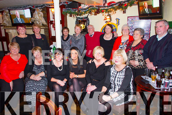 Pictured in Matt McCoy's Bar, Abbeyfeale, on Friday night was the staff and clients of the Body care and Wellness Centre Abbeyfeale enjoying their christmas party.