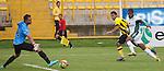 La Equidad se impuso contundentemente 4 – 0 a Alianza Petrolera en juego válido por la novena jornada del Torneo Clausura Colombiano 2013 / José 'Pepe' Moreno en la definición del gol cuarto 'asegurador'