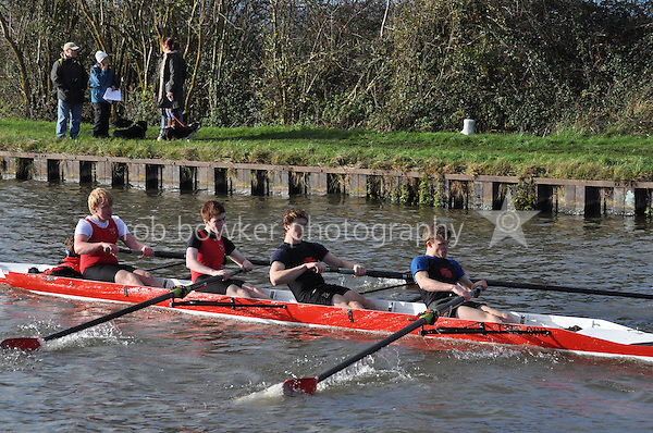 323 CHE Cheltenham. Wycliffe Small Boats Head 2011. Saturday 3 December 2011. c. 2500m on the Gloucester Berkeley Canal
